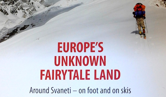 Europes unknown fairytale land front cover