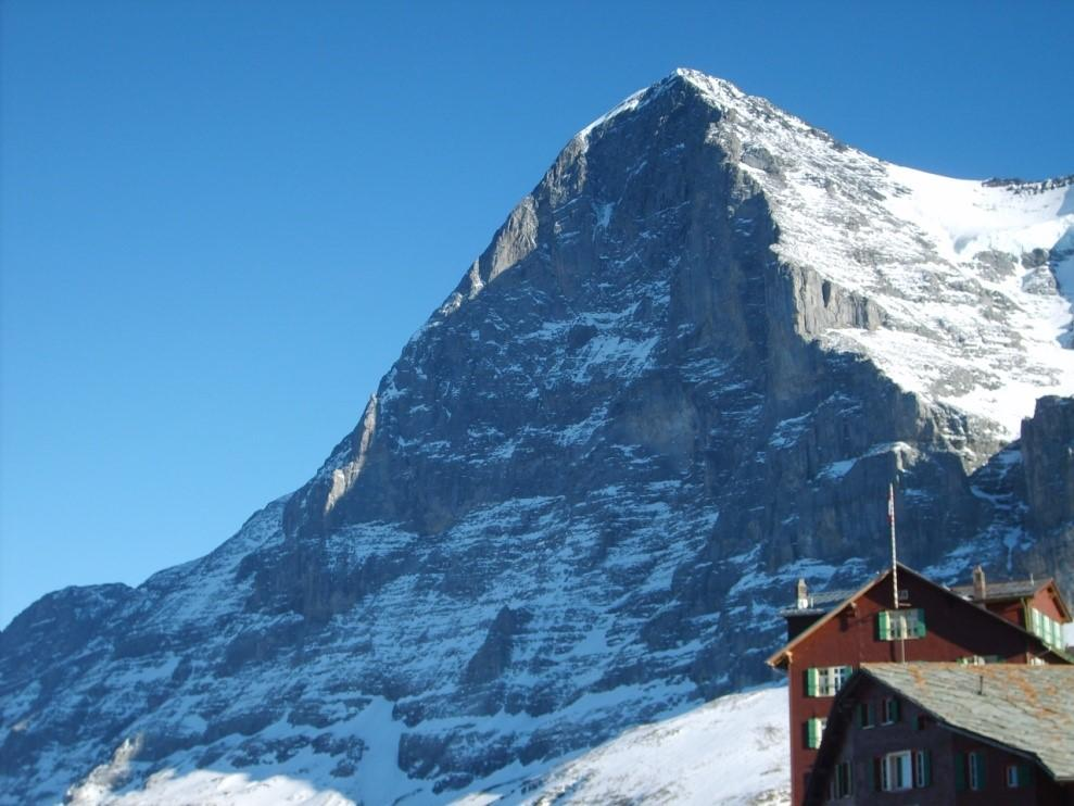 The alpine big 3 and why you should climb them mountaintracks overview the eiger whose name means ogre is appropriately named for the severity of its towering north face this mountain is the farthest east of the reheart Choice Image